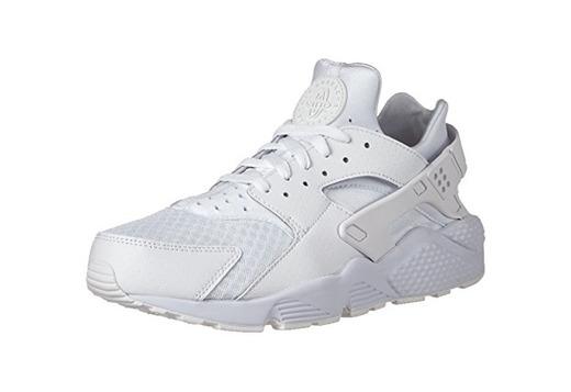 Nike Air Huarache, Zapatillas de Gimnasia Hombre, Blanco