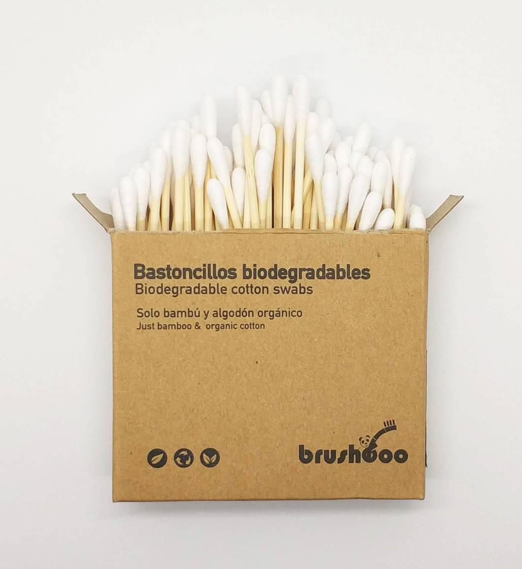 Bastoncillos biodegradables de bambú – Brushboo
