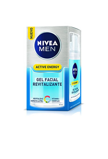 Nivea Men Active Energy Gel Facial Revitalizante Hombre