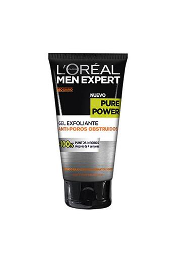 L'Oreal Paris Men Expert Gel Exfoliante Anti Poros Obstruidos Pieles Rebeldes Pure