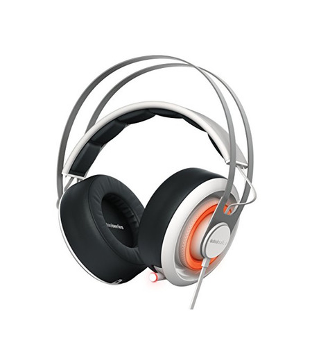 SteelSeries Siberia 650 - Auriculares para juego, sonido Dolby Surround 7.1, iluminación