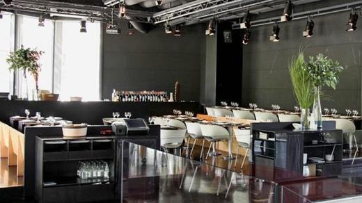Restaurante Negro / Rojo