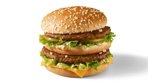 Big Mac®: 100% Beef Burger with Special Sauce   McDonald's