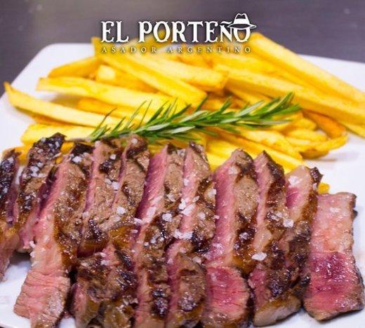 """Asador """"El Porteño"""", asador argentino"""