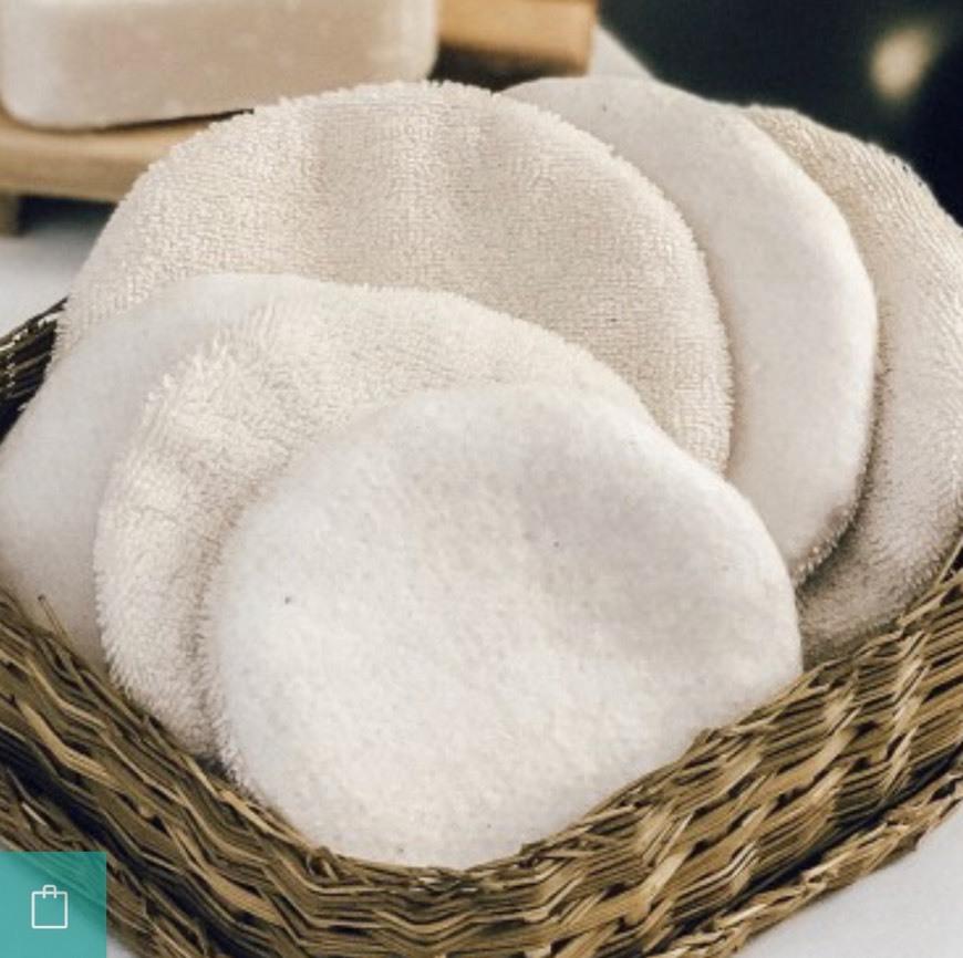Discos de algodón reutilizable
