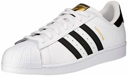 adidas Superstar, Zapatillas de deporte Unisex Adulto, Blanco