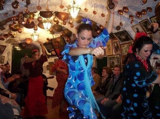 Espectáculo Flamenco en cueva del Sacromonte de Granada