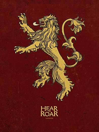 Pyramid International Game of Thrones - Canvas Lannister