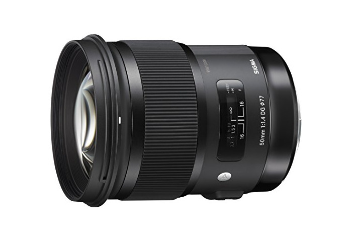 Sigma 50 mm DG HSM - Objetivo para Canon