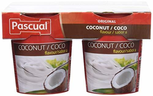 Pascual Yogur Sabor Coco - Paquete de 4 x 125 gr -