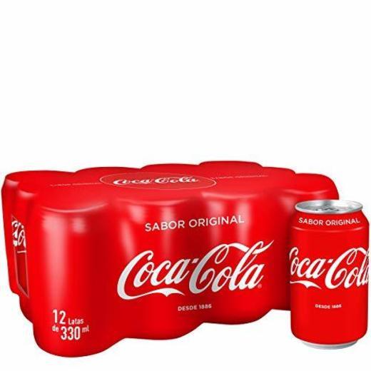 Coca-Cola - Regular, Refresco con gas de cola, 330 ml