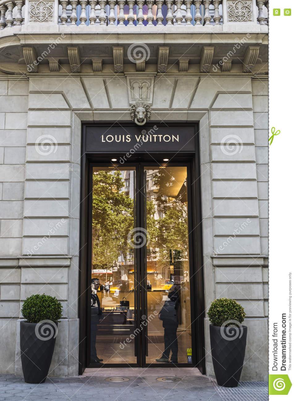 Louis Vuitton Barcelona Paseo de Gracia