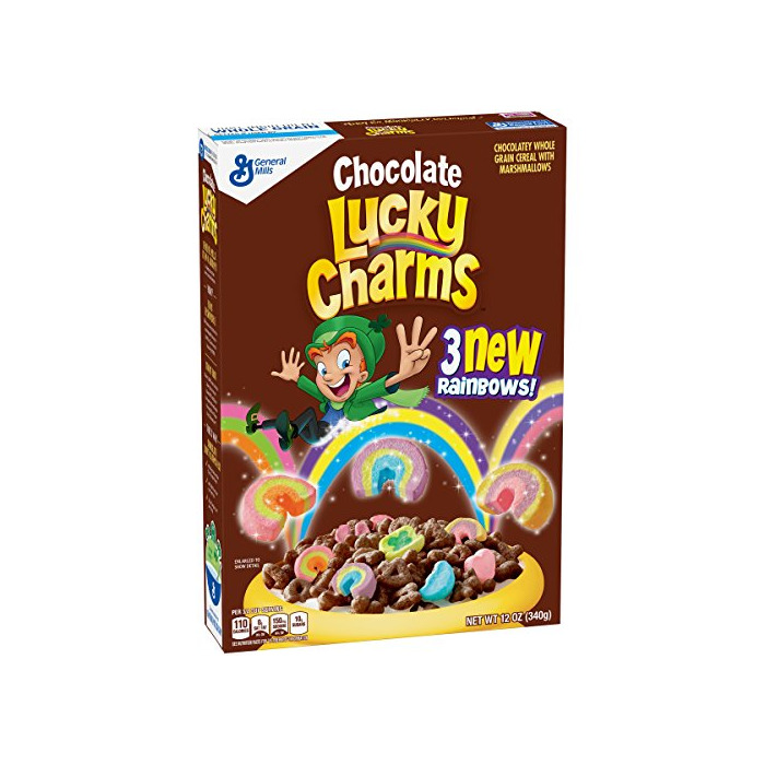 Lucky Charms Chocolate - Cereal with Marshmallows