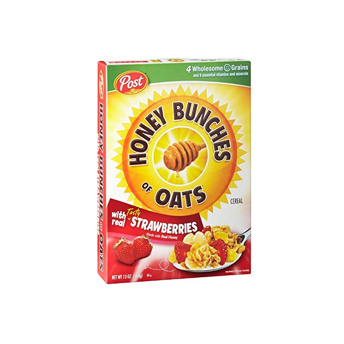 Honey Bunches of Oats with Real Strawberries, 13-Ounce Boxes