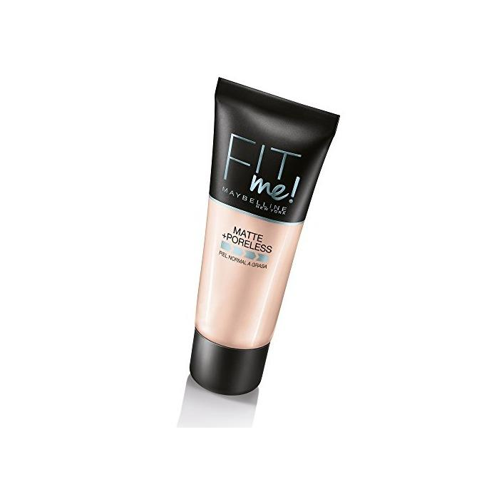 Maybelline Fit Me Matte Base de maquillaje, Tono: 120 Classic Ivory