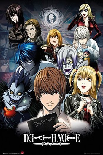GB Eye Limited Death Note Collage Poster