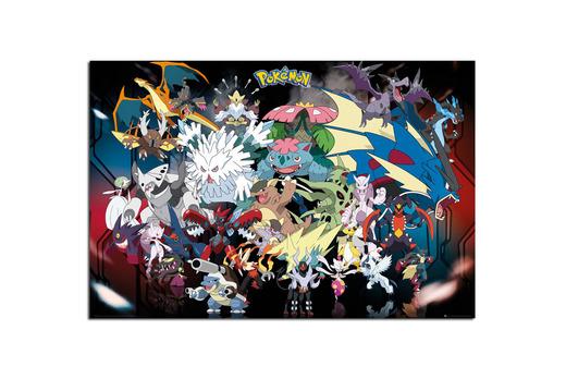 Mega póster Pokemon