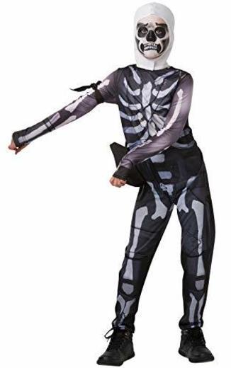 Fortnite - Disfraz Skull Trooper para niños, 13-14 años