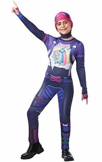 Fortnite - Disfraz Brite Bomber para niño, 11-12 años