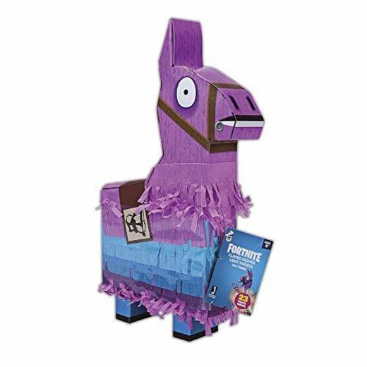 Toy Partner Fortnite La La piñata de la Llama Color Rosa/Azul/Negro Talla