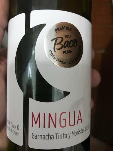 Mingua Tinto 2016 - Comprar vino Tinto Joven - Somontano ...