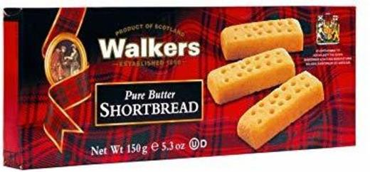 Walkers Shortbread Fingers, 2-Count Cookies Packages