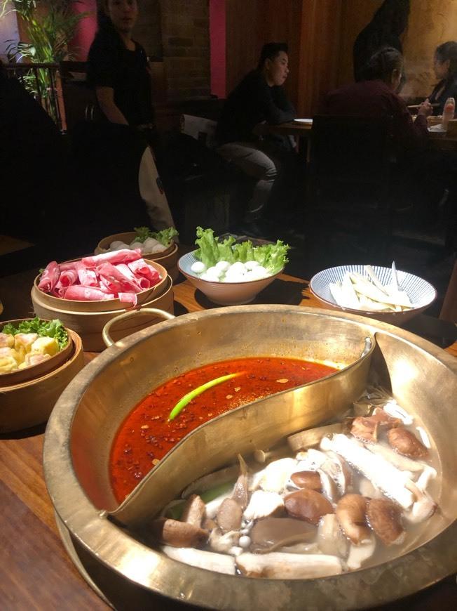 La olla de Sichuan