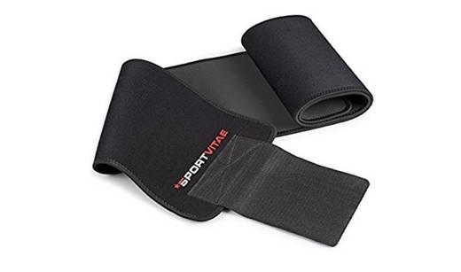 Cinturón abdominal de sudoración y soporte para la espalda