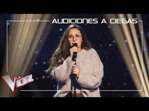 Auba Estela Murillo canta 'Aunque tú no lo sepas' | Asaltos | La Voz ...