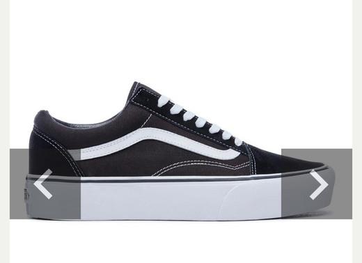 Zapatillas Old Skool de plataforma | Negro | Vans