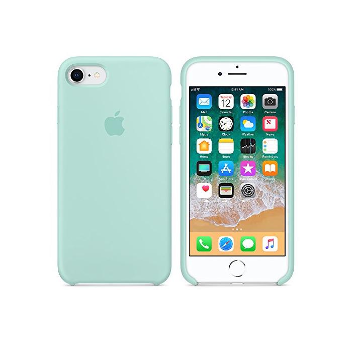 Funda para iPhone 7/8 Carcasa Silicona Suave Colores del Caramelo con Superfino