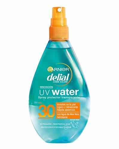 Garnier Delial Spray Protector Transparente UV Water Alta Protección