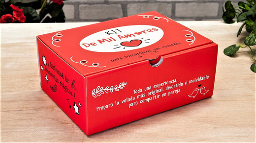 Kit de Mil Amores para Enamorados