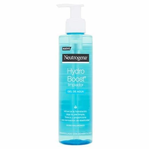 Neutrogena Hydro Boost - Limpiador facial gel de agua para la eliminación