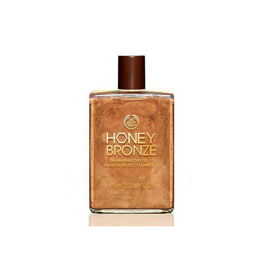 Aceite seco irisado honey bronze-the body shop