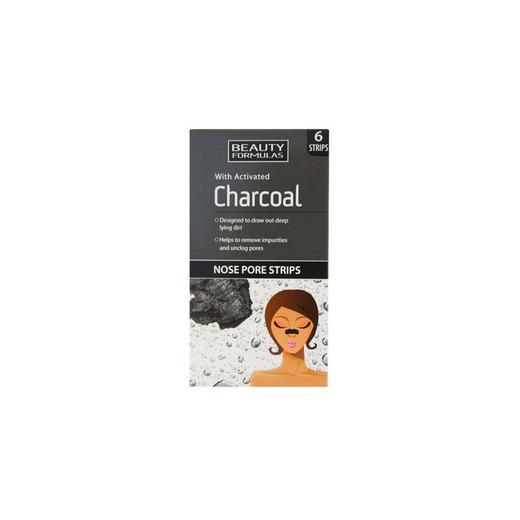 Tiras limpiadoras con carbón activo-Beauty Formulas