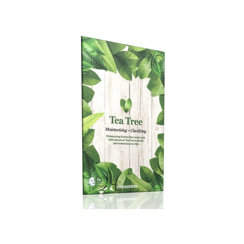 Mascarilla de té verde-Vitamasques