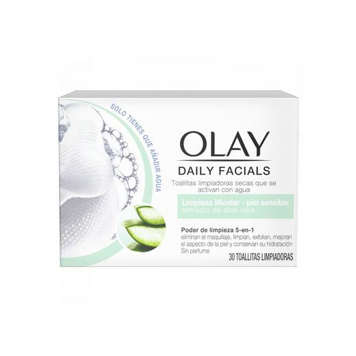 Daily Facials Toallitas Micelares para piel sensible Olay
