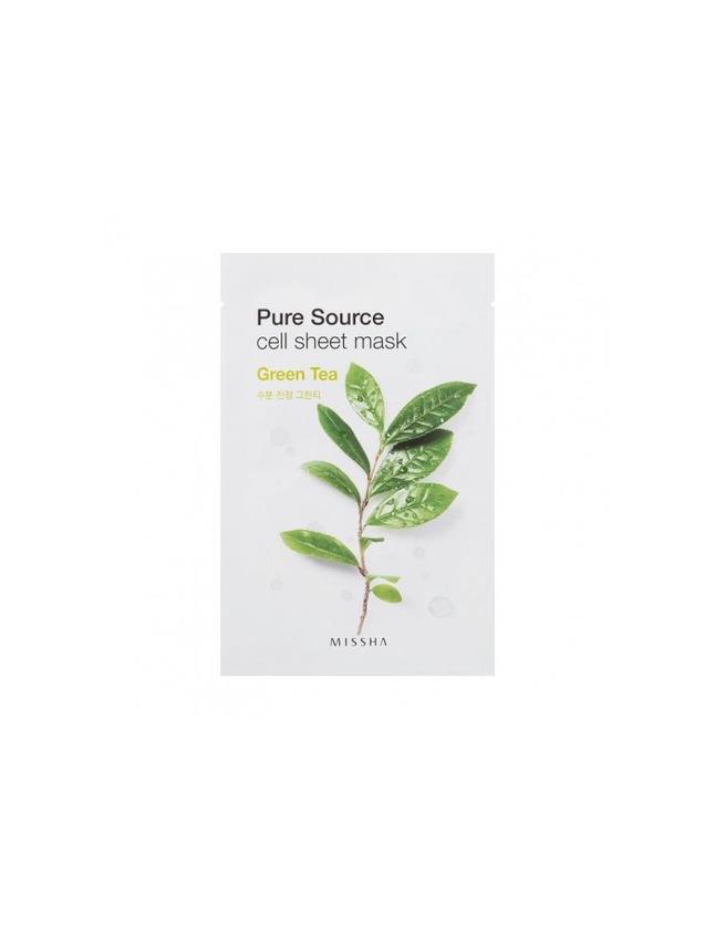 Mascarilla de té verde-Missha