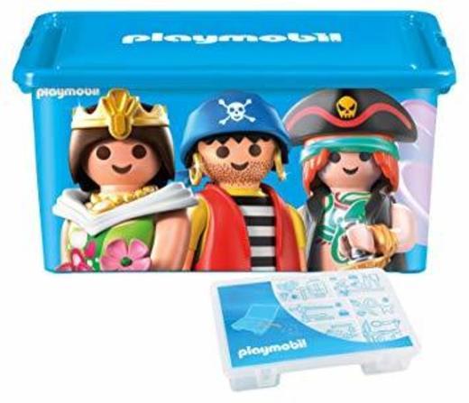 Playmobil 064672 - gran caja de almacenaje 23 L + caja con ...