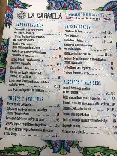 Gastrobar La Carmela