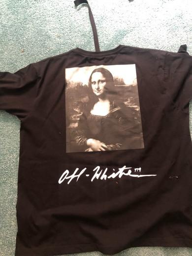 Camiseta Off White Mona Lisa