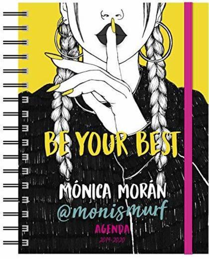 Mónica Morán. Agenda: Be your best. Agenda 2019-2020