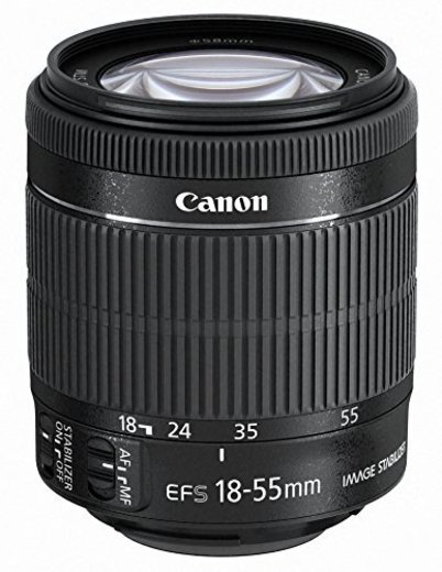 Objetivo para Canon EF-S 18-55mm f/3.5-5.6 IS STM -