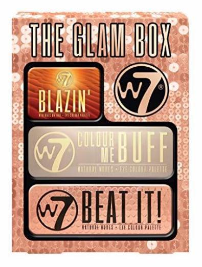 W7 The Glam Box - Set de regalo