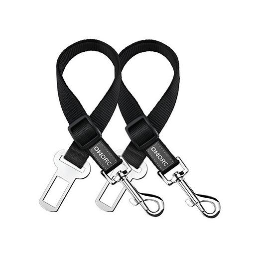 OMORC 2 Cinturón de Seguridad de Coche para Perros