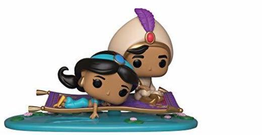 Funko- Pop Vinyl: Magic Carpet Ride Aladdin Figura de Vinilo Movie Moment