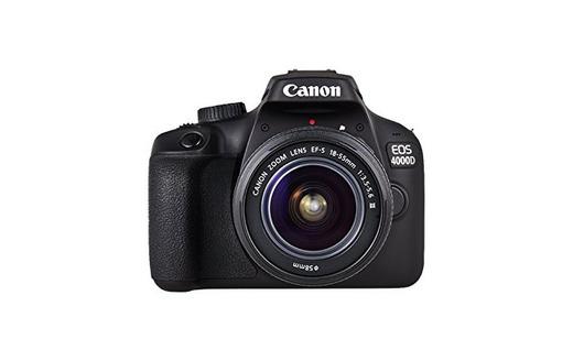 Canon EOS 4000D Camara Con Objetivo EF-S 18-55mm II