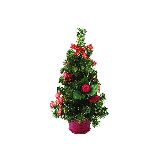 Rojo pequeño para árbol de Navidad.