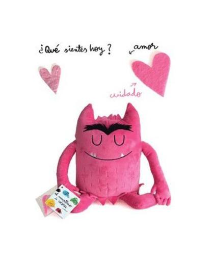 Anna Llenas - Peluche monstruo rosa